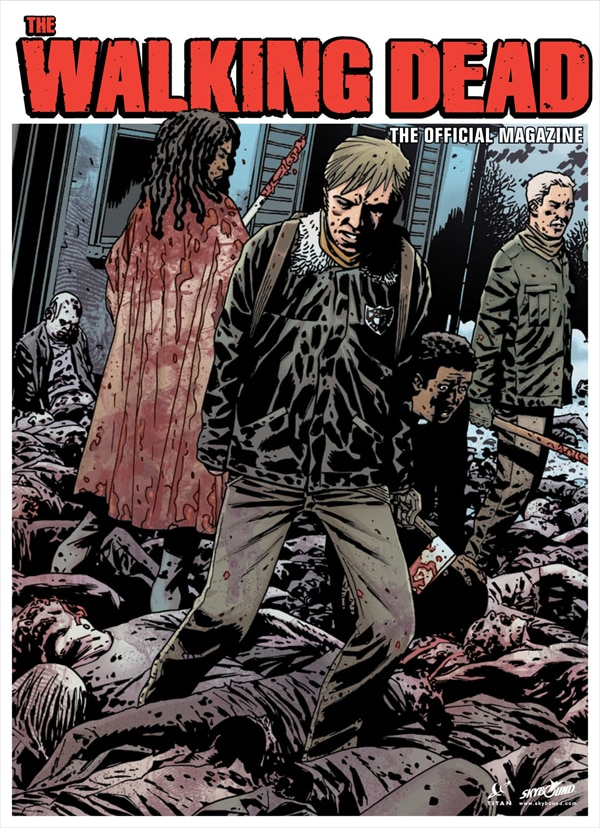 Get a Sneak Peek of Issue #2 of The Walking Dead, The Official Magazine