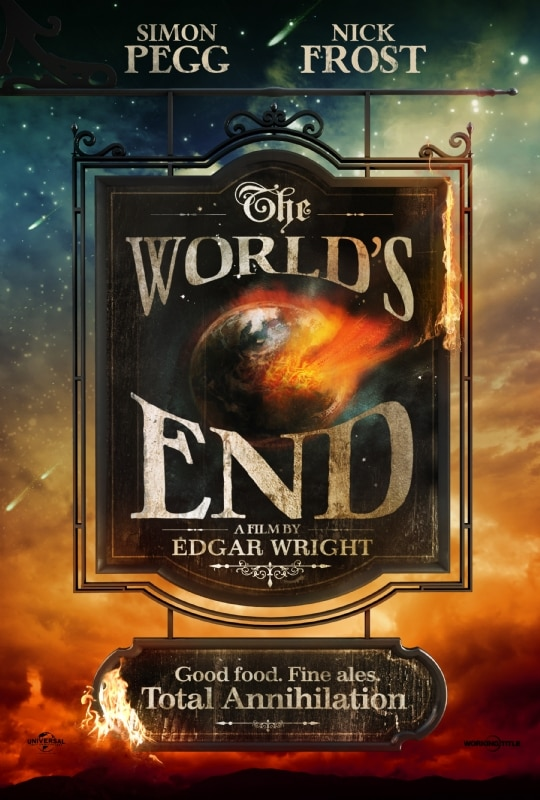 Mayan Apocalypse Be Damned! Here's Your First Look at The World's End