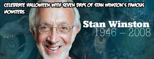 Exclusive Series: Celebrate Halloween with 7 Days of Stan Winston's Famous Monsters; Go Behind-the-Scenes of Aliens!