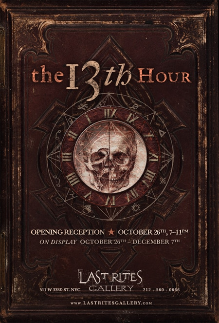 13th Hour Paul Booth Last Rites