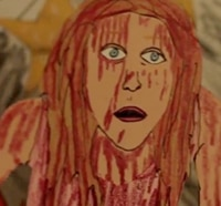 Carrie Trailer Unfolds as Paper