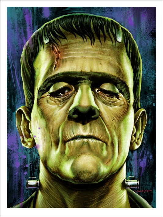 Mondo Releasing Jason Edmiston's Universal Monsters Screenprints on October 16th