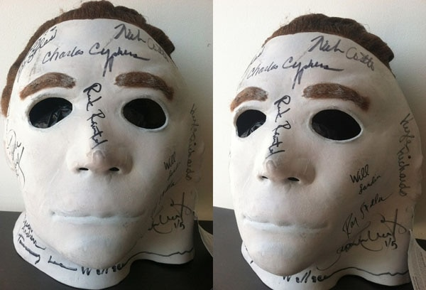 Jamie Lee Curtis Auctions Off Signed Michael Myers Masks for Charity