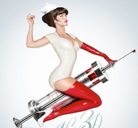 Nurse 3D Trailer Premiere Hurts So Good