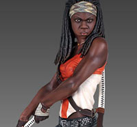 Gentle Giant Releasing More Walking Dead Collectibles - 18-Inch Michonne and Carl Mini Bust Arrive Q3 2014