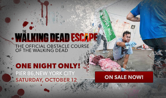 NYCC 2013: Win a Pair of Tickets to The Walking Dead Escape