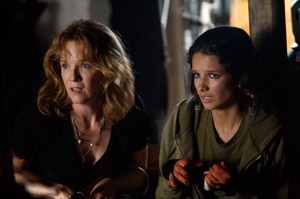 Lea Thompson and Alice Greczyn