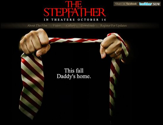 The Stepfather Remake: Daddy's New Website Opens its Doors