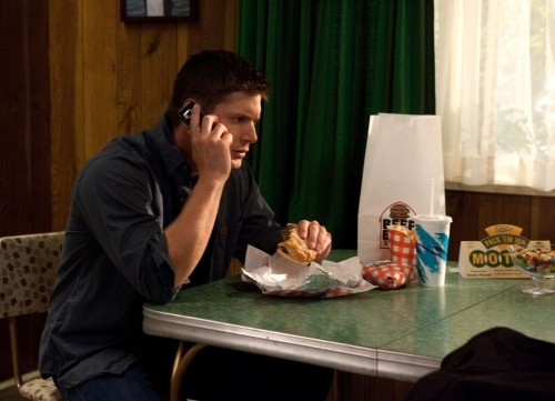 Stills from the Jensen Ackles Directed Episode of Supernatural - Weekend at Bobby's SN601h