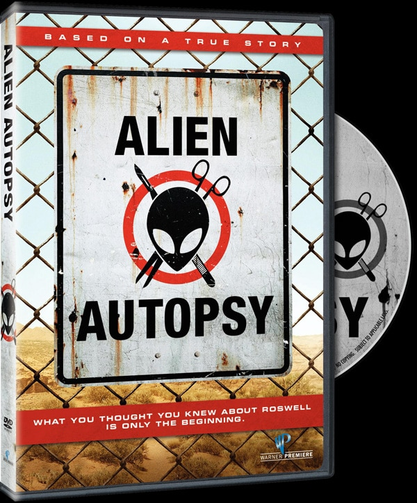 Win a Copy of Alien Autopsy on DVD!