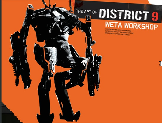 The Art Of District 9: Weta Workshop Now Available for Pre-Order