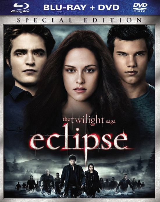 Blu-ray/DVD Details for The Twilight Saga: Eclipse and Two Companion DVDs