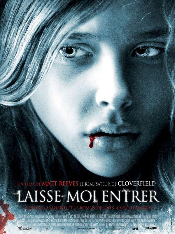 New French Let Me In Poster Draws Blood