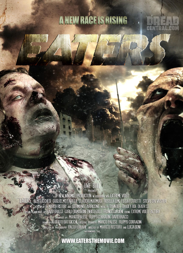 Shamble on Zombie Italiano! New Eaters Image and One Sheet!