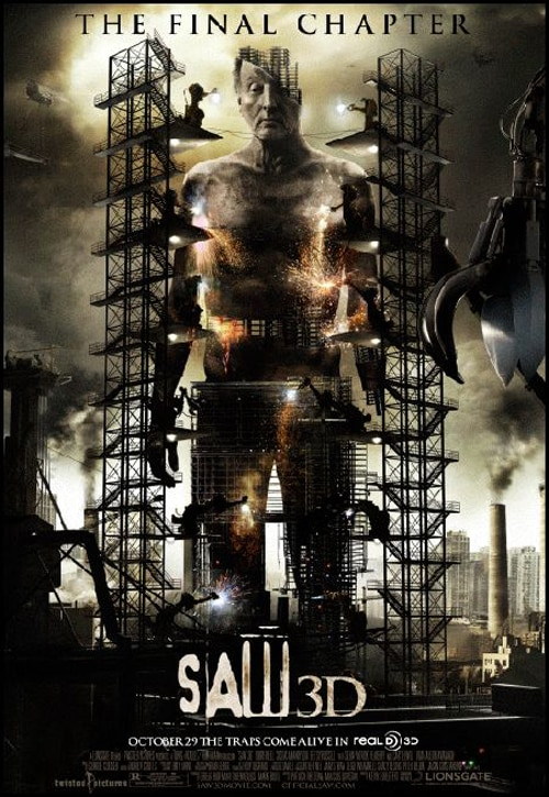 Another New Saw 3D International One-Sheet