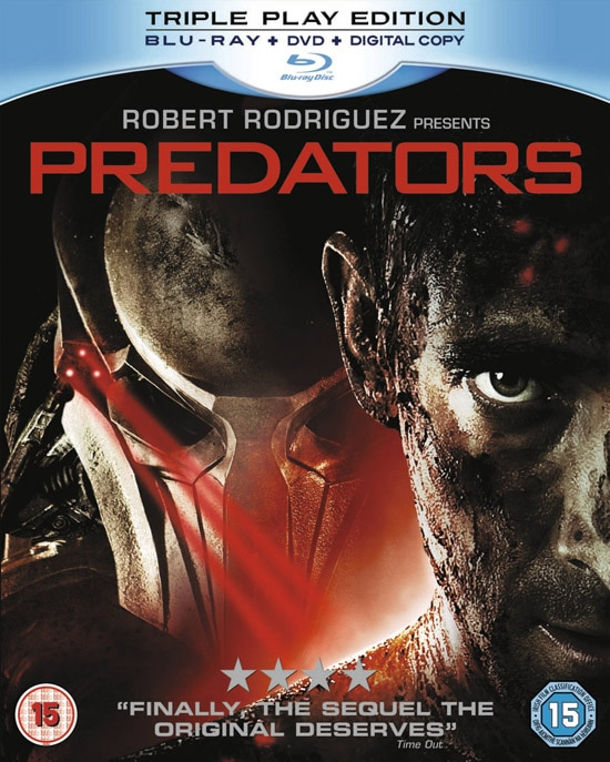 Predators UK DVD and Blu-ray Details De-Cloaked