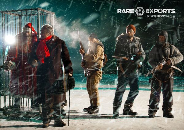 Exclusive: The Feral Santas Line-Up in New Rare Exports Image / Premiere Dates