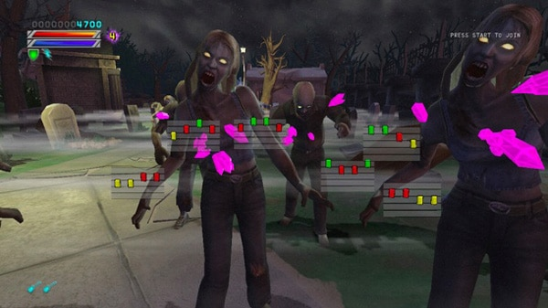 Rock of the Dead Slaying Zombies on Your Xbox 360 and PS3!