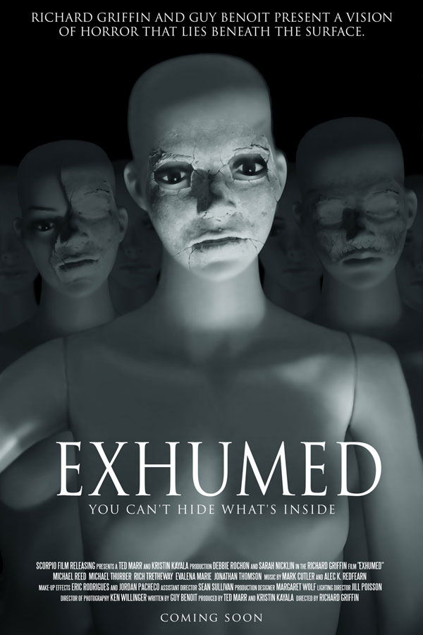 New Trailer, Poster, and Stills from Richard Griffin's Exhumed