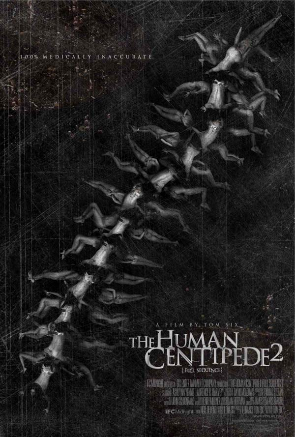 The Official Trailer for The Human Centipede 2: Full Sequence Crawls Online