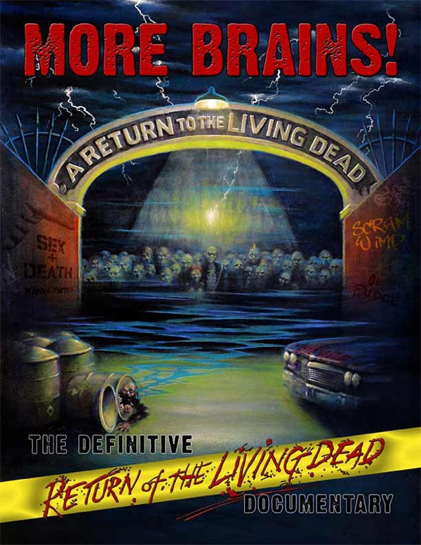 Official DVD Art Debut: More Brains! A Return to the Living Dead!
