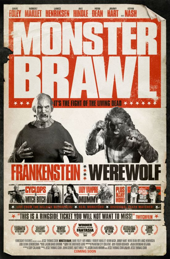 International Monster Brawl One-Sheet Tells the Tale of the Tape
