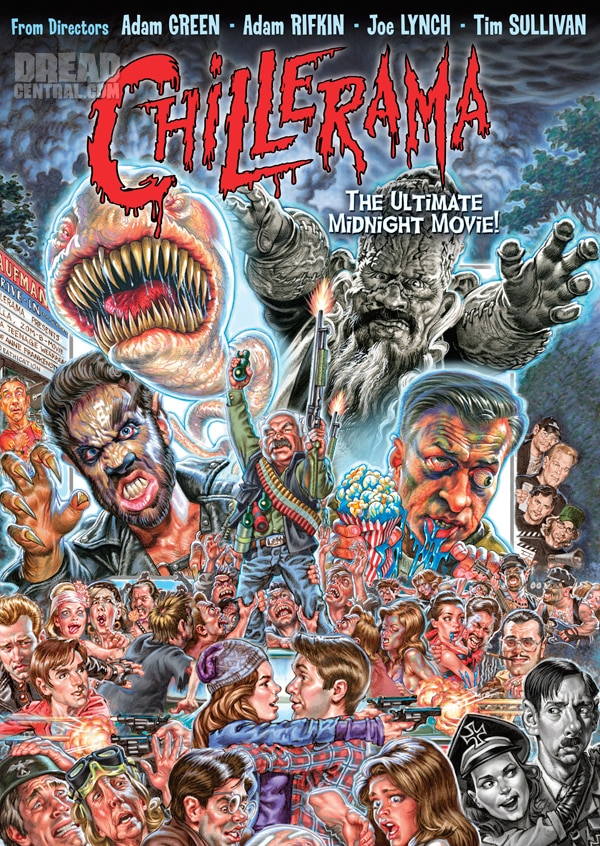 New Chillerama Artwork Explodes Off the Screen