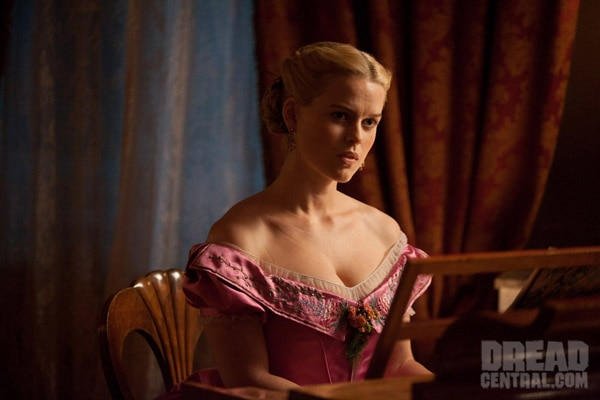 First Look at Entourage's Alice Eve in The Raven (click for larger image)