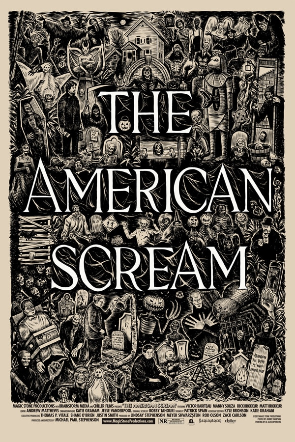 Two TV Spots for Halloween Haunt Documentary The American Scream