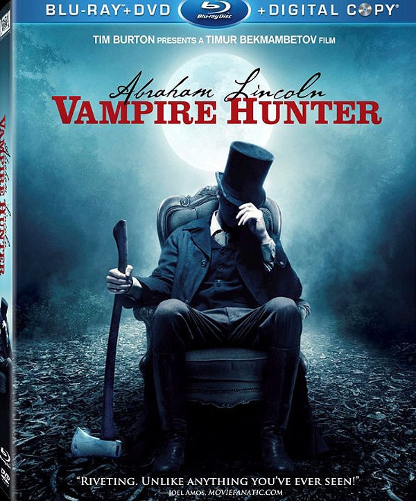 Official DVD / Blu-ray Art and Specs: Abraham Lincoln: Vampire Hunter