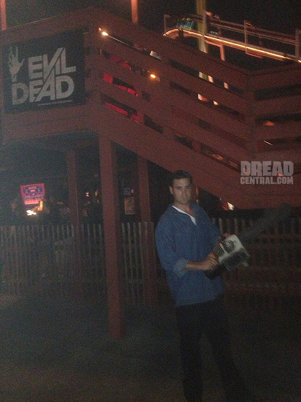 Check Out the Evil Dead Log Ride from Knott's Scary Farm!