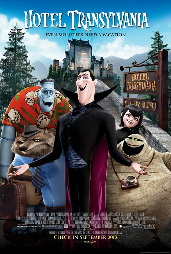 New Hotel Transylvania One-Sheet Greets You with Open Arms
