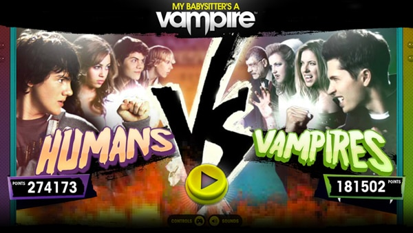 Humans VS Vampires Now Free at the App Store