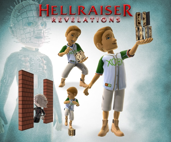 Dress Your Xbox Live Avatars As Hellraiser: Revelations Characters