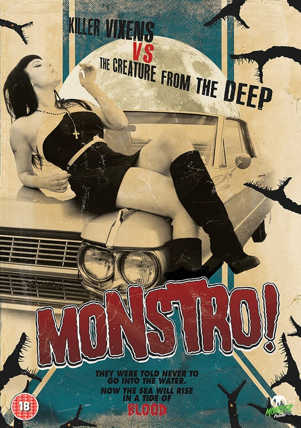 Monster Pictures Unleashing Monstro! on UK DVD in October