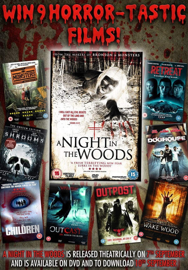 UK Readers: Win a Huge Nine-Pack of Scares on DVD!