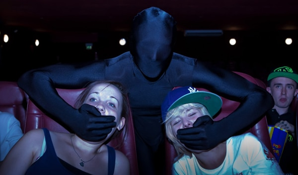 The Answer to our Prayers - Ninjas Hired to Silence Movie Goers