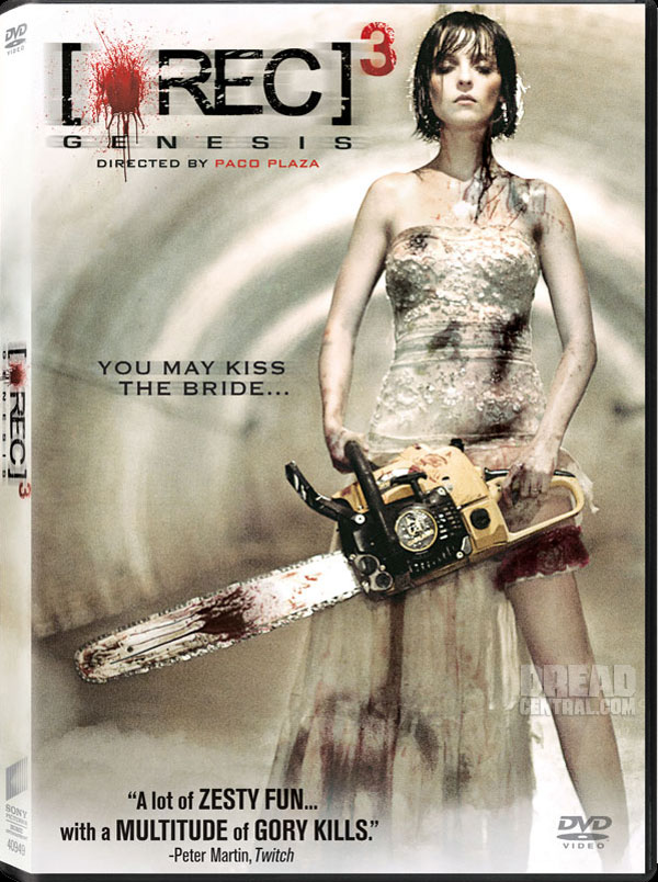 Exclusive First Word and DVD Artwork: REC 3: Genesis