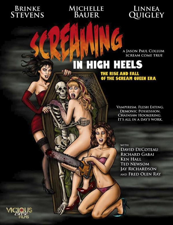 Exclusive Interview: Brinke Stevens, Linnea Quigley, and Michelle Bauer - Screaming in High Heels!