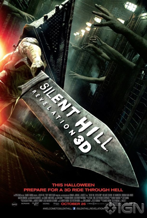 First Official Silent Hill: Revelation One-Sheet