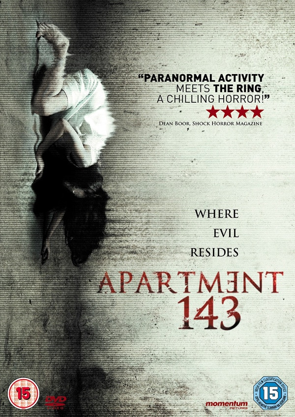 Ghostly Found Footage From Apartment 143 Haunts UK DVD