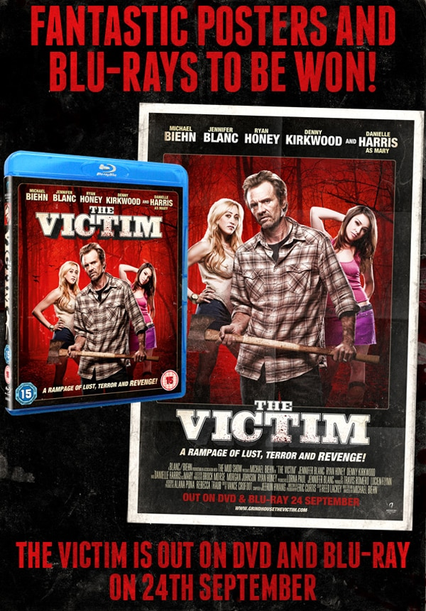 UK Readers: Win a Blu-ray and Poster for The Victim
