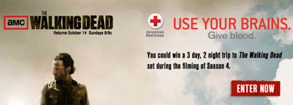 The Walking Dead - Donate Blood; Season Four Confirmed