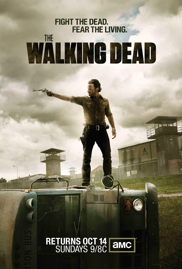 Official Walking Dead Season 3 Artwork Takes Aim