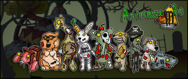 Zombie Lovers: Save the Animazombs from Quarantine and Help Bring Them to Life!