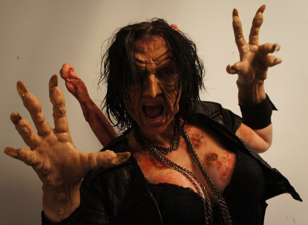 New Still of Debbie Rochon from Dry Bones