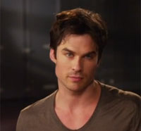 Ian Somerhalder Talks Damon's Happiness Quotient in The Vampire Diaries Season 5