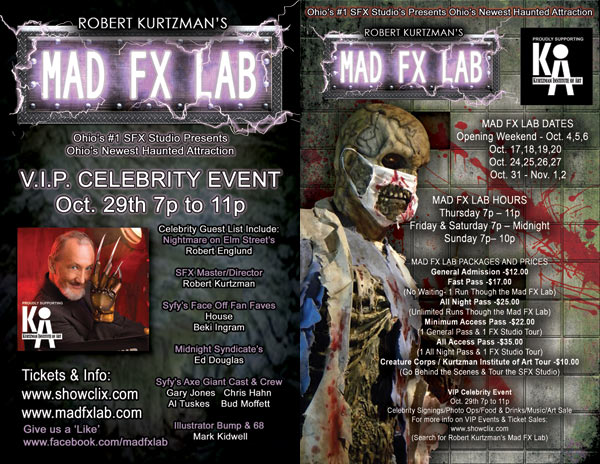 Robert Kurtzman Invites You to Experience His Mad FX Lab Halloween Haunt