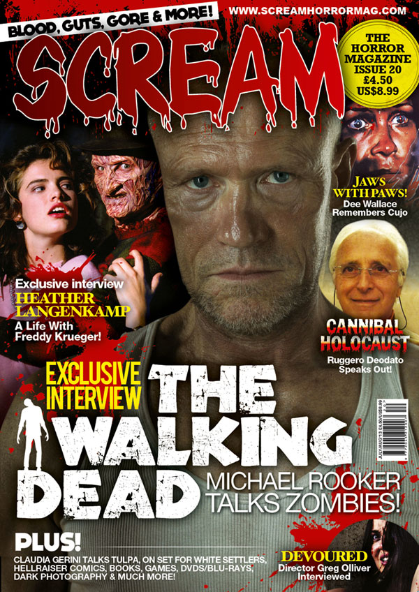 Win a Copy of Issue #20 of the UK's SCREAM Magazine
