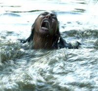 Zoe Bell Becomes Gator Bait in Freshwater